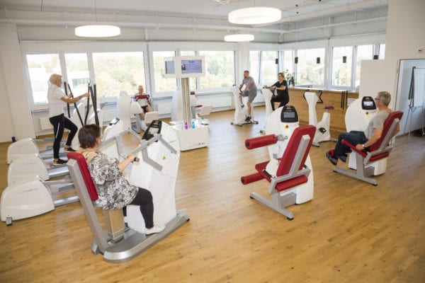 Fitness-Studio von Thomas Lorez in Bendern für 60 Plus fotografiert.  Foto: Paul J. Trummer